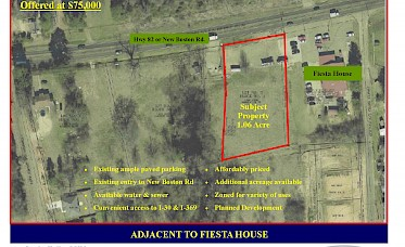 1 Acre on Highway 82 in Nash, TX image.